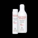 Krom Tea Tree Shampoo Шампунь с ментолом, маслами чайного дерева и эвкалипта, 1000 мл